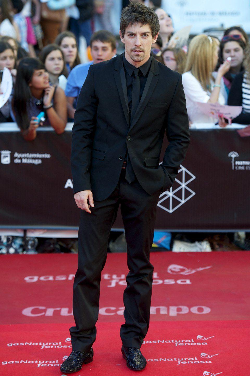 Adrián Lastra en la clausura del Festival de Málaga 2013