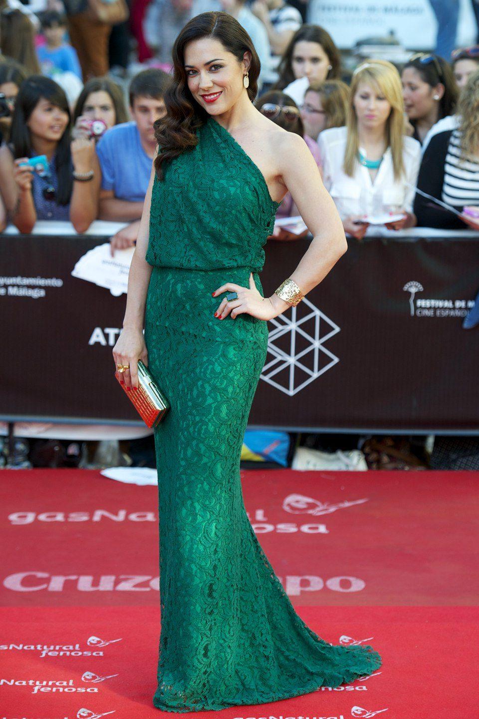 Eva Marciel en la clausura del Festival de Málaga 2013