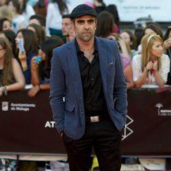 Luis Tosar en la clausura del Festival de Málaga 2013