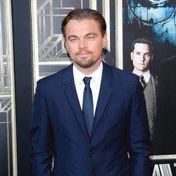Leonardo DiCaprio en el estreno mundial de 'El gran Gatsby' en Nueva York