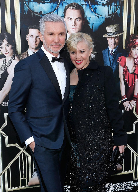 Baz Luhrmann y Catherine Martin en el estreno mundial de 'El gran Gatsby' en Nueva York