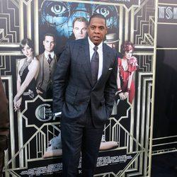 Jay-Z en el estreno mundial de 'El gran Gatsby' en Nueva York