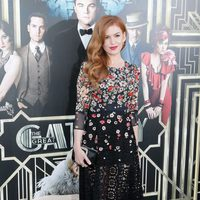 Isla Fisher en el estreno mundial de 'El gran Gatsby' en Nueva York