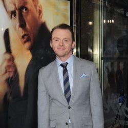 Simon Pegg en el estreno en Londres de 'Star Trek: En la oscuridad'