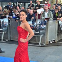 Michelle Rodriguez en la premiere mundial de 'Fast & Furious 6' en Londres