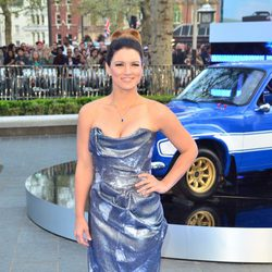 Gina Carano en la premiere mundial de 'Fast & Furious 6' en Londres