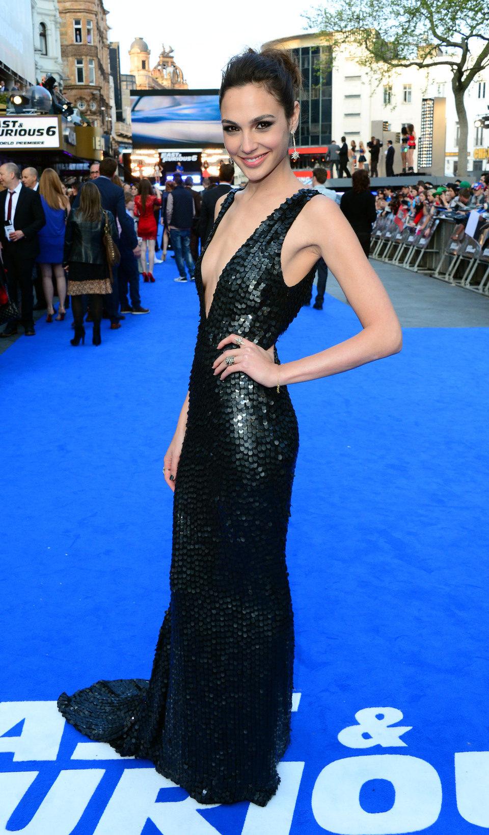 Gal Gadot en la premiere mundial de 'Fast & Furious 6' en Londres