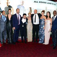 Michelle Rodriguez, Justin Lin, Elsa Pataky y el reparto de 'Fast & Furious 6' en Londres