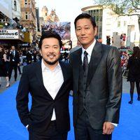Justin Lin y Ssang Kang en la premiere mundial de 'Fast & Furious 6' en Londres