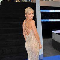 Elsa Pataky luciendo vestido en la premiere mundial de 'Fast & Furious 6' en Londres