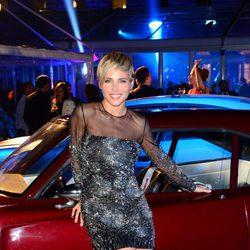 Elsa Pataky en el coche de Fast & Furious 6' en la premiere mundial de la película en Londres