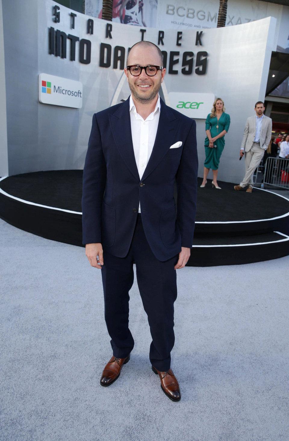 Damon Lindelof en el estreno en Los Angeles de 'Star Trek: En la oscuridad'