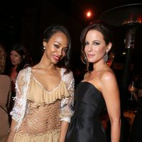 Zoe Saldana y Kate Beckinsale en el estreno en Los Angeles de 'Star Trek: En la oscuridad'