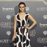 Aura Garrido en el estreno en Madrid de 'El gran Gatsby'