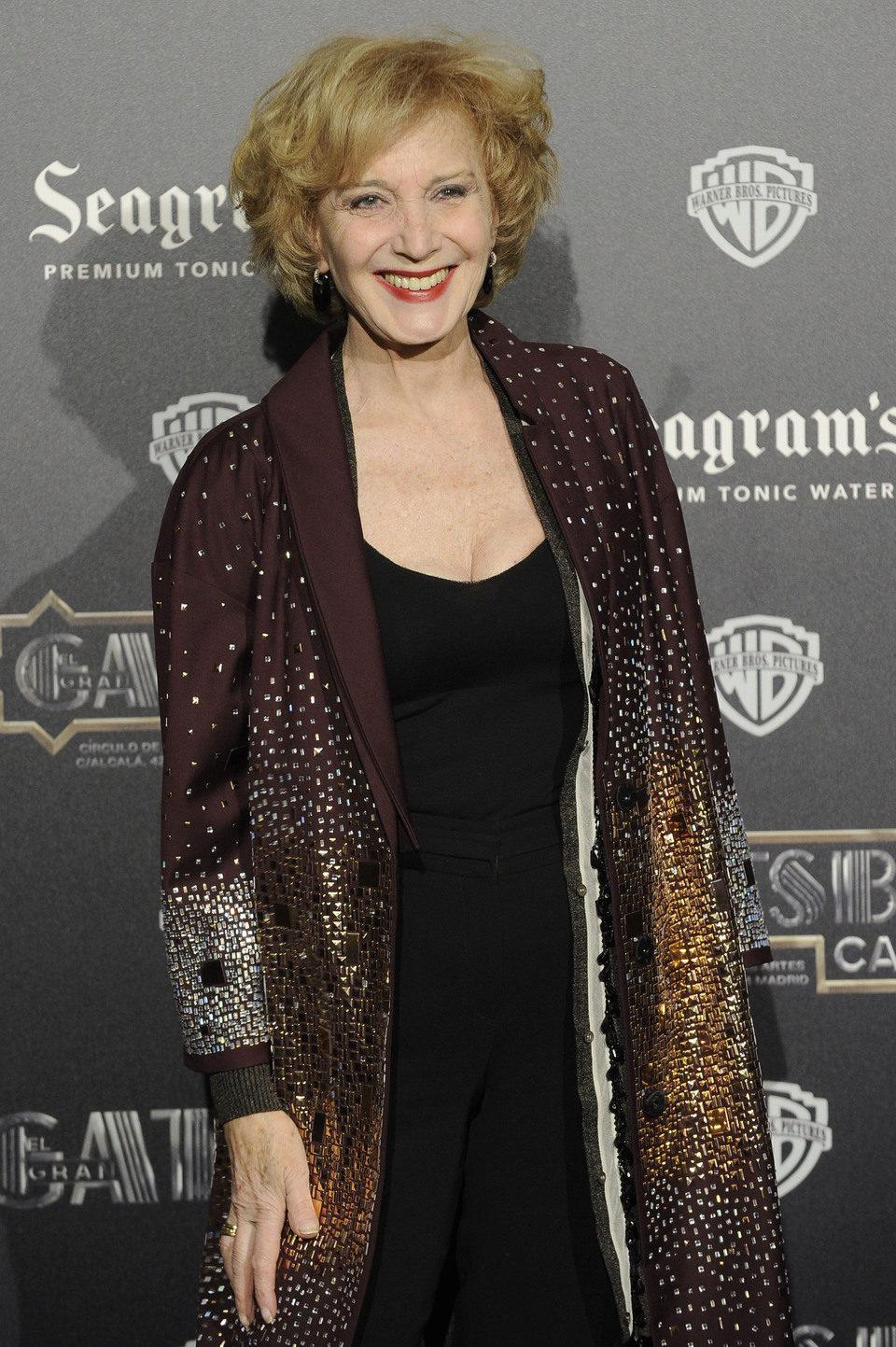 Marisa Paredes en el estreno en Madrid de 'El gran Gatsby'