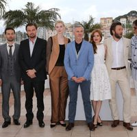 El equipo de 'El gran Gatsby' en la presentación del Festival de Cannes 2013