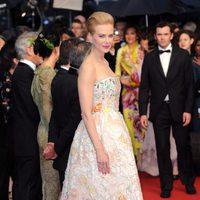 Nicole Kidman en la fiesta inaugural del Festival de Cannes 2013