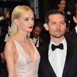 Carey Mulligan y Tobey Maguire en la fiesta inaugural del Festival de Cannes 2013