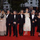Miembros del jurado en la fiesta inaugural del Festival de Cannes 2013