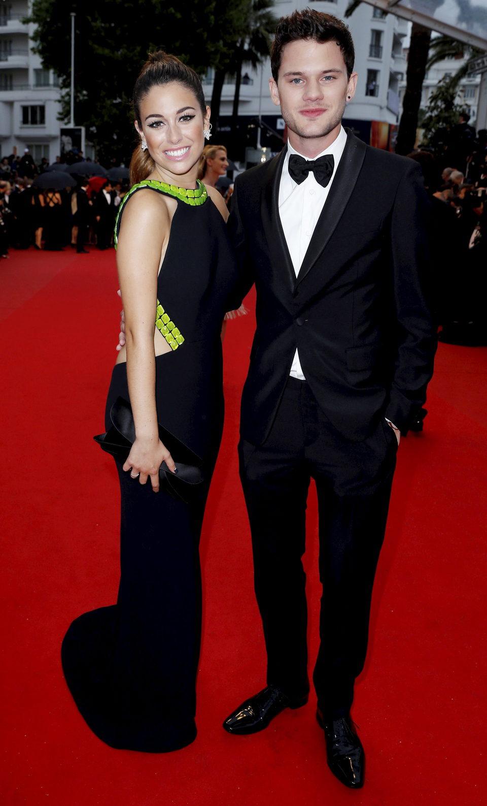 Blanca Suárez y Jeremy Irvine en la fiesta inaugural del Festival de Cannes 2013