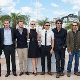 El equipo de 'Inside Llewyn Davis' en el Festival de Cannes 2013