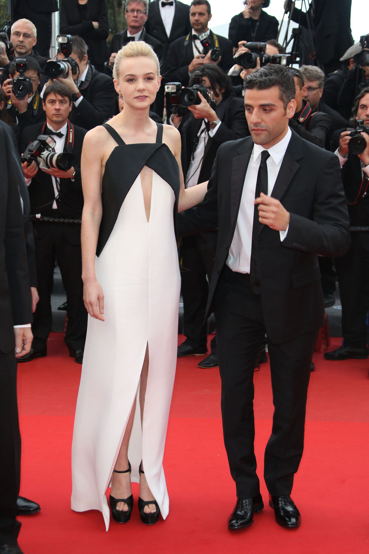 Carey Mulligan y Oscar Isaac en la premiere de 'Inside Llewyn Davis' en el Festival de Cannes 2013