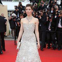 Jessica Biel en la premiere de 'Inside Llewyn Davis' en el Festival de Cannes 2013