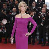 Jane Fonda en la premiere de 'Inside Llewyn Davis' en el Festival de Cannes 2013