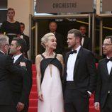 Carey Mulligan y Justin Timberlake en la premiere de 'Inside Llewyn Davis' en el Festival de Cannes 2013