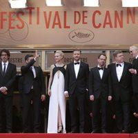 El equipo de 'Inside Llewyn Davis' en la premiere de la película dentro del Festival de Cannes 2013