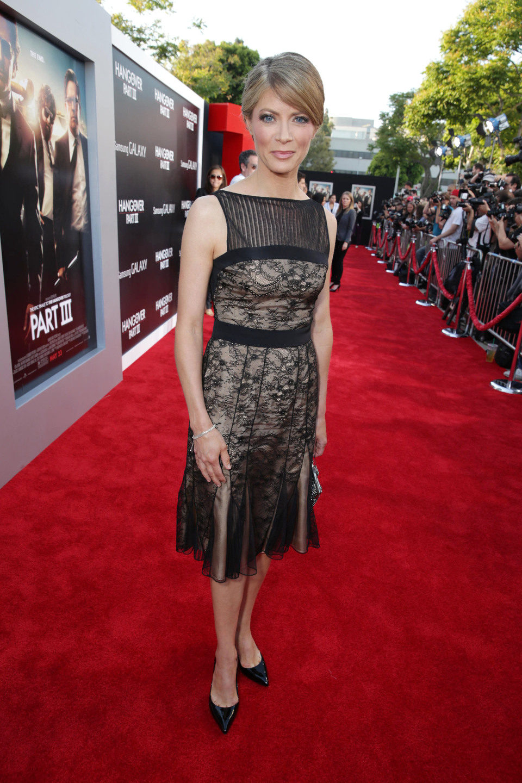 Gillian Vigman en la premiere de 'R3sacón' en Los Ángeles