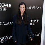 Sasha Barrese en la premiere de 'R3sacón' en Los Ángeles