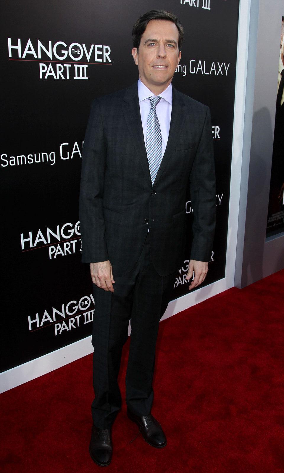 Ed Helms en la premiere de 'R3sacón' en Los Ángeles