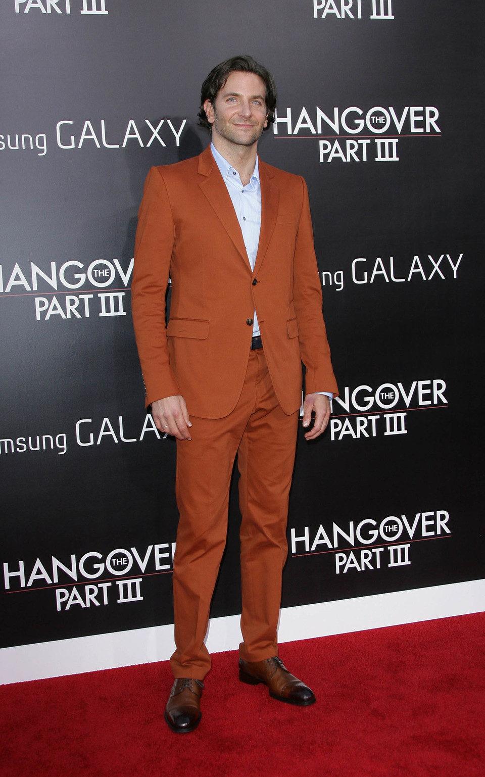 Bradley Cooper en la premiere de 'R3sacón' en Los Ángeles