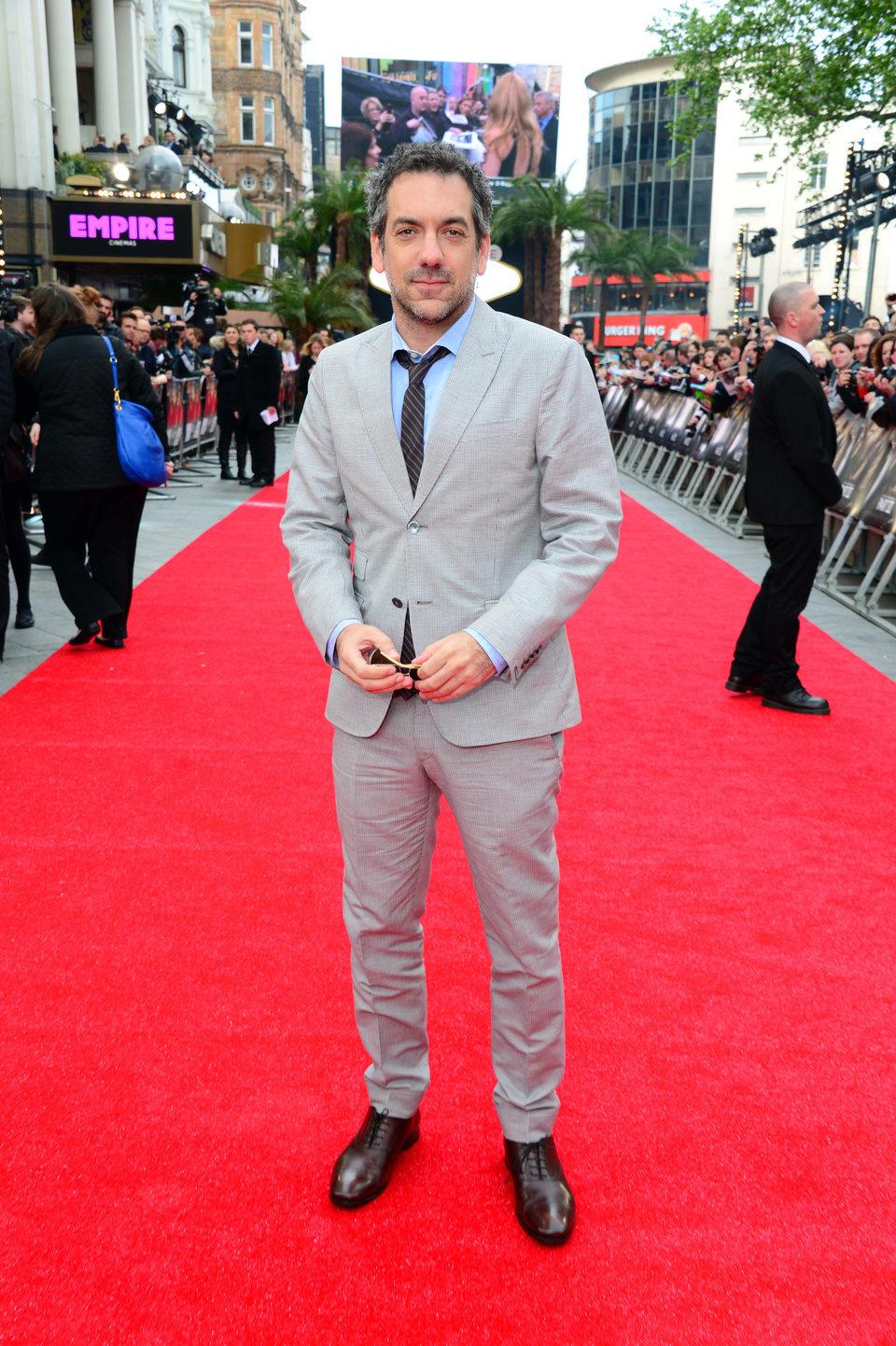 Todd Phillips en la premiere de 'R3sacón' en Londres