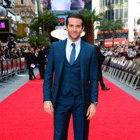 Bradley Cooper en la premiere de 'R3sacón' en Londres.
