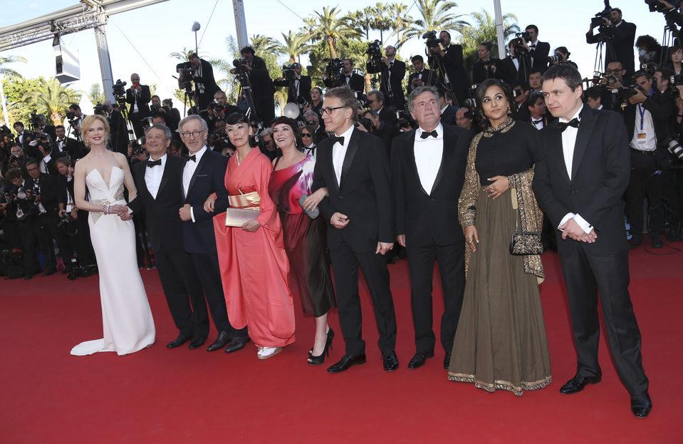 El jurado en la clausura del Festival de Cannes 2013