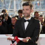 Oscar Isaac en la clausura del Festival de Cannes 2013