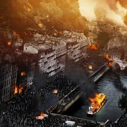 París en un banner de 'Guerra Mundial Z'