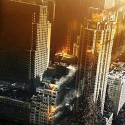 Nueva York en un banner de 'Guerra Mundial Z'