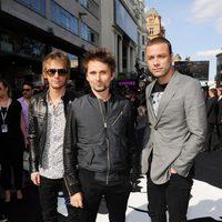 Muse en el estreno de 'Guerra Mundial Z' en Londres