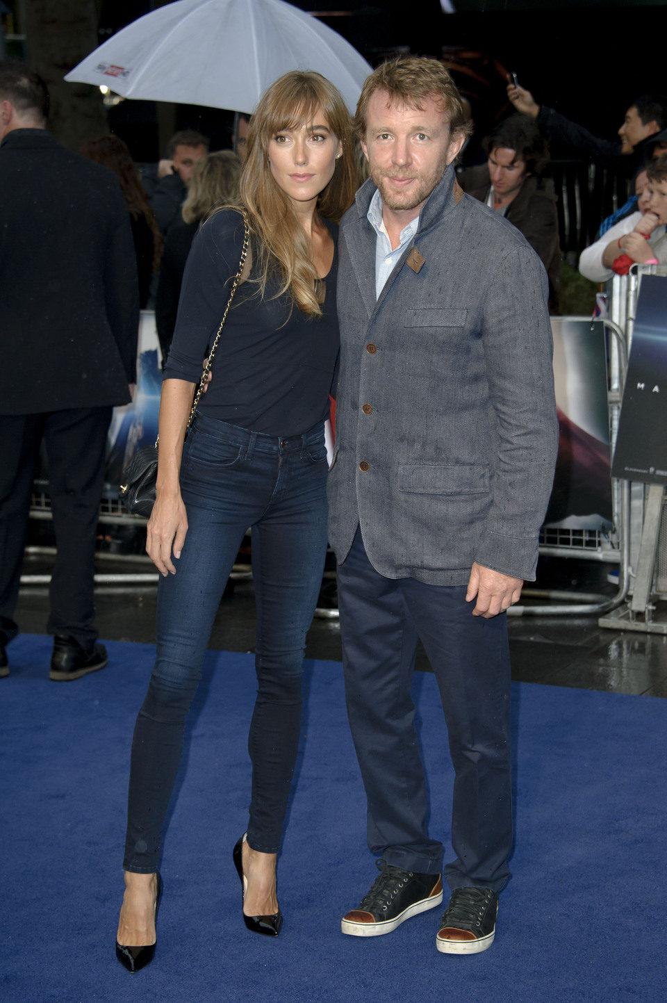 Guy Ritchie en la premiere europea de 'El Hombre de Acero' en Londres
