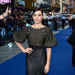 Antje Traue en la premiere europea de 'El Hombre de Acero' en Londres
