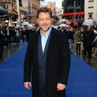 Russell Crowe en la premiere europea de 'El Hombre de Acero' en Londres