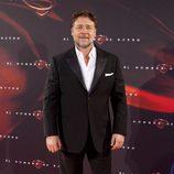 Russell Crowe en la premiere de 'El hombre de acero' en Madrid