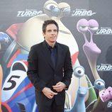 Ben Stiller en la presentación en Barcelona de 'Turbo'