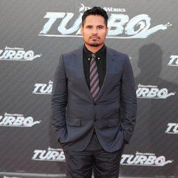 Michael Peña en la presentación en Barcelona de 'Turbo'