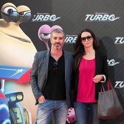 Adrià Collado en la presentación en Barcelona de 'Turbo'