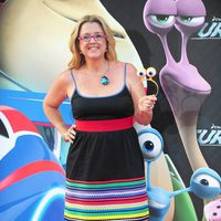Ana Tarrés en la presentación en Barcelona de 'Turbo'