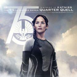 Póster de Katniss para 'Los Juegos del Hambre: En llamas'